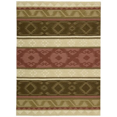 Atna Hand-Tufted Espresso Area Rug Rug Size: Rectangle 8 x 106