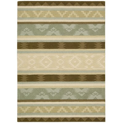 Atna Hand-Tufted Sage Area Rug Rug Size: Rectangle 3'6