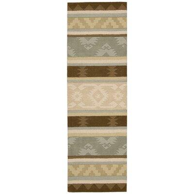 Atna Hand-Tufted Sage Area Rug Rug Size: Runner 23 x 76