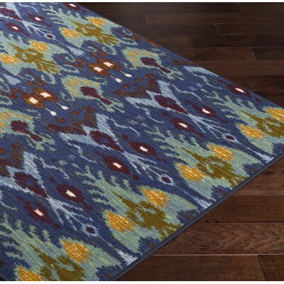 Coso Blue/Yellow Area Rug Rug Size: Rectangle 110 x 3