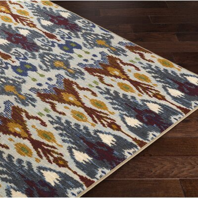 Coso Brown/Blue Area Rug Rug Size: Rectangle 8 x 10