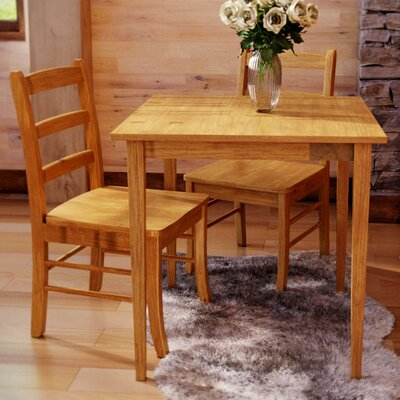 Avawatz 3 Piece Dining Set Finish: Light Oak