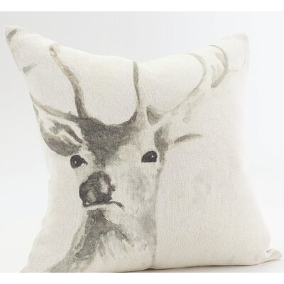 Dyer Stag Throw Pillow
