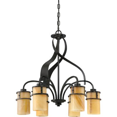 Colby 6-Light Shaded Chandelier