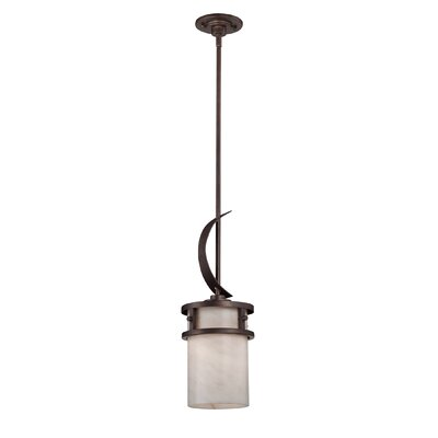 Colby 1-Light Mini Pendant Finish: Iron Gate