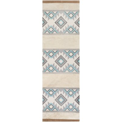 Alta Verde Hand-Crafted Area Rug Rug size: Runner 26 x 8