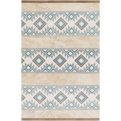 Alta Verde Hand-Crafted Area Rug Rug size: 5 x 8