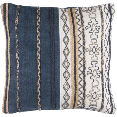 Lambert 100% Cotton Throw Pillow Cover Size: 20 H x 20 W x 1 D