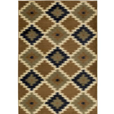 Amur Military Olive Area Rug Rug Size: 53 x 76