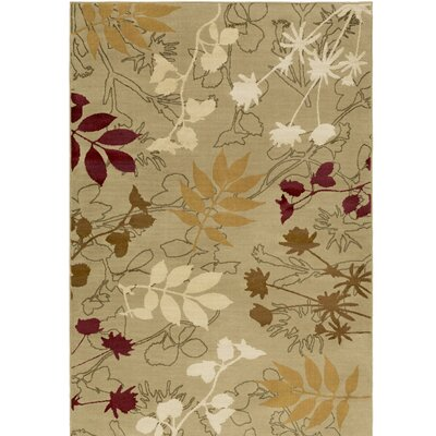 Amur Putty Area Rug Rug Size: 111 x 33
