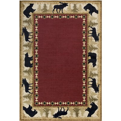 Amur Multi Area Rug Rug Size: Rectangle 53 x 76
