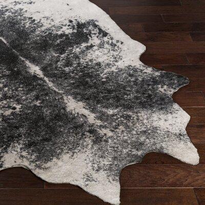 Chellis Ivory/Black Area Rug