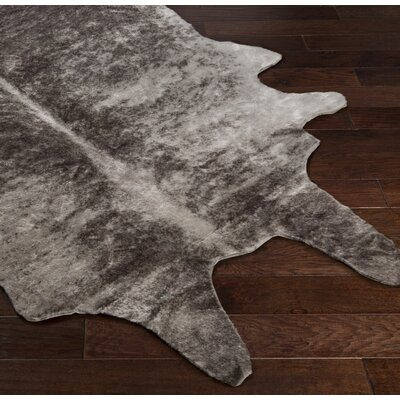 Chellis Gray/Brown Area Rug