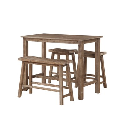 Atlantis 4 Piece Pub Table Set