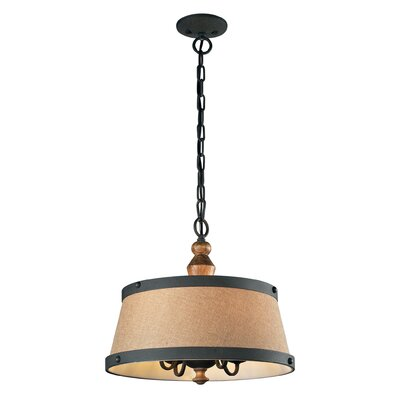 Almirante 4-Light Drum Pendant