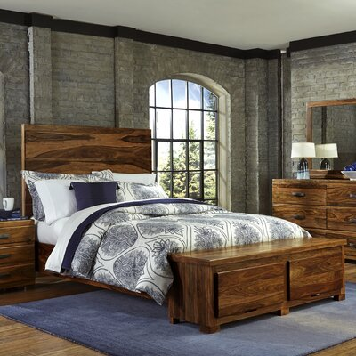 Baltusrol Storage Panel Bed Size: Queen