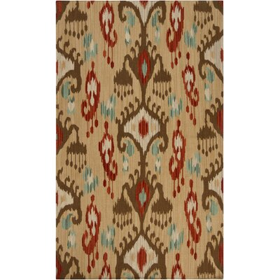 Charleville Multi-colored Area Rug Rug Size: 36 x 56