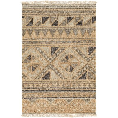 Essex Hand-Woven Brown Area Rug Rug Size: 2 x 3