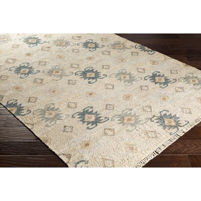 Essex Hand-Woven Blue Area Rug Rug Size: Rectangle 2 x 3