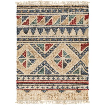 Essex Hand-Woven Neutral/Brown Area Rug Rug Size: Rectangle 2 x 3
