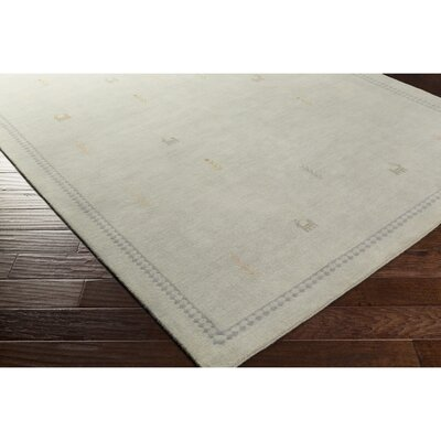 Taylor Cove Hand-Knotted Green/Yellow Area Rug Rug Size: Rectangle 5 x 76