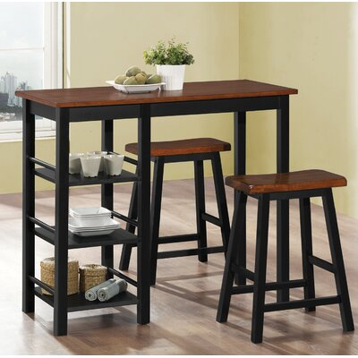 Bunch 3 Piece Counter Height Bistro Set