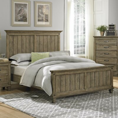 Attleboro Panel Bed Size: Queen LOON8555 33491000