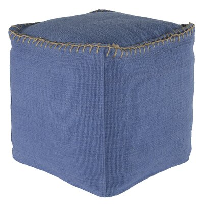 Beaumont Pouf Upholstery Color: Periwinkle