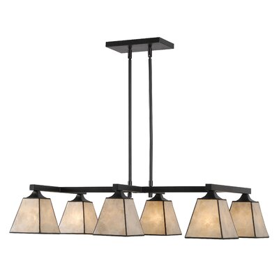 Barabo 6-Light Kitchen Island Pendant