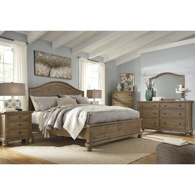 Battalgazi Panel Customizable Bedroom Set