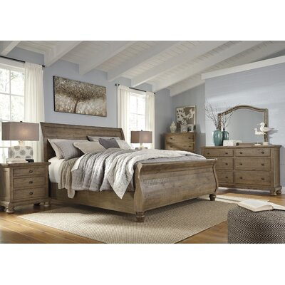 Battalgazi Sleigh Configurable Bedroom Set