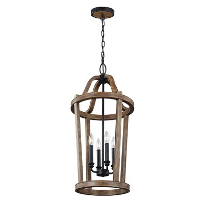 Saguaro 4-Light Foyer Pendant