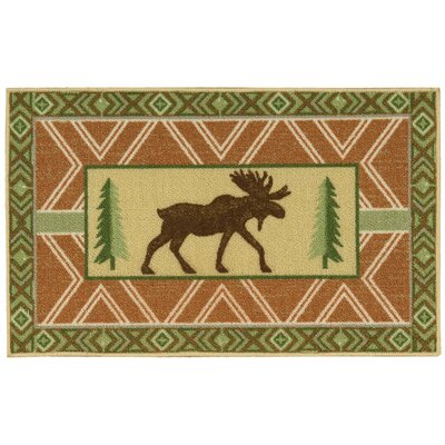 Asmara Green/Brown Area Rug