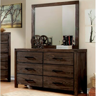 Blackburn Transitional Dresser and Mirror
