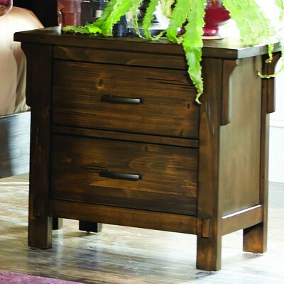 Baird 2 Drawer Nightstand