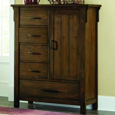 Baird 5 Drawer Gentlemans Chest