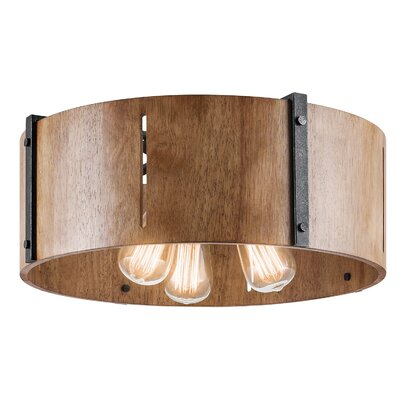 Hyndman 3-Light Flush Mount