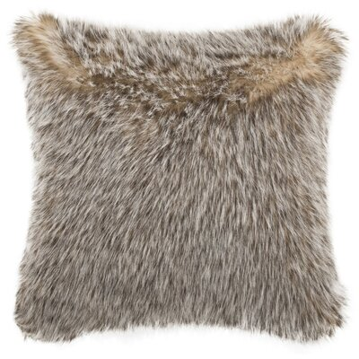 Kaguyak Dusty Fur Throw Pillow