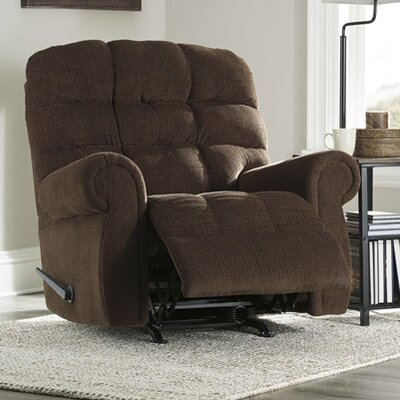 Barchetta Rocker Recliner Upholstery: Walnut