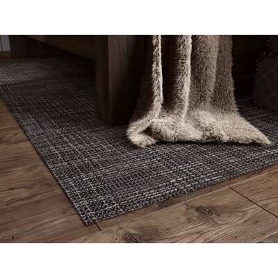 Hobson Gray Handspun Indoor/Outdoor Area Rug Rug Size: 8 x 10