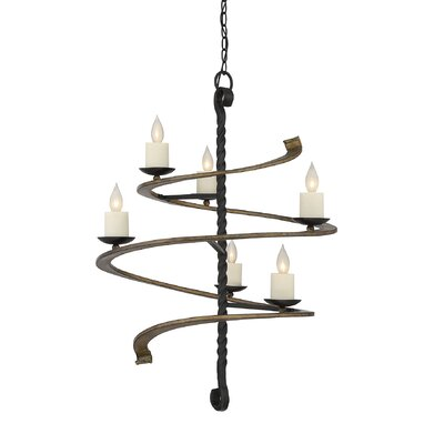 Shawnee 6-Light Candle-Style Chandelier