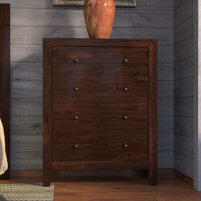 Signal Mountain 4 Drawer Chest Color: Char Pine