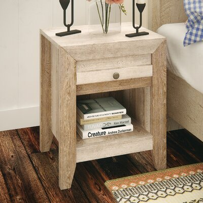 Signal Mountain 1 Drawer Nightstand Color: Craftsman Oak