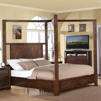Lancaster Storage Canopy Bed