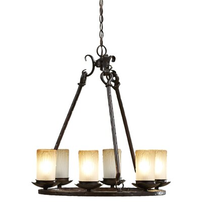 Rowan 6-Light Shaded Chandelier