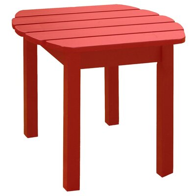 Rupert Side Table Finish: Red