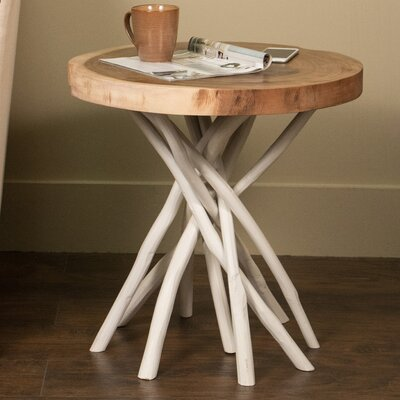 Stilwell End Table Finish: White
