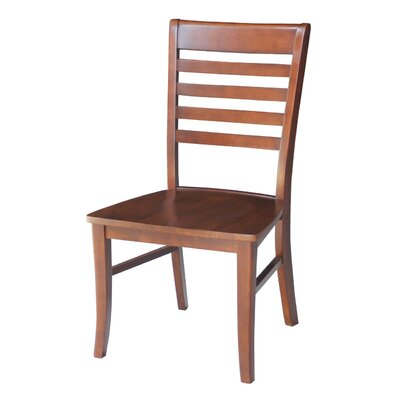 Bezons Solid Wood Chair Chair Finish: Espresso / Cherry