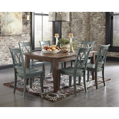 Castle Pines Dining Table Finish: Dark Brown