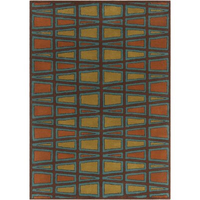 Chatou Hand Tufted Wool Area Rug Rug Size: 5 x 76